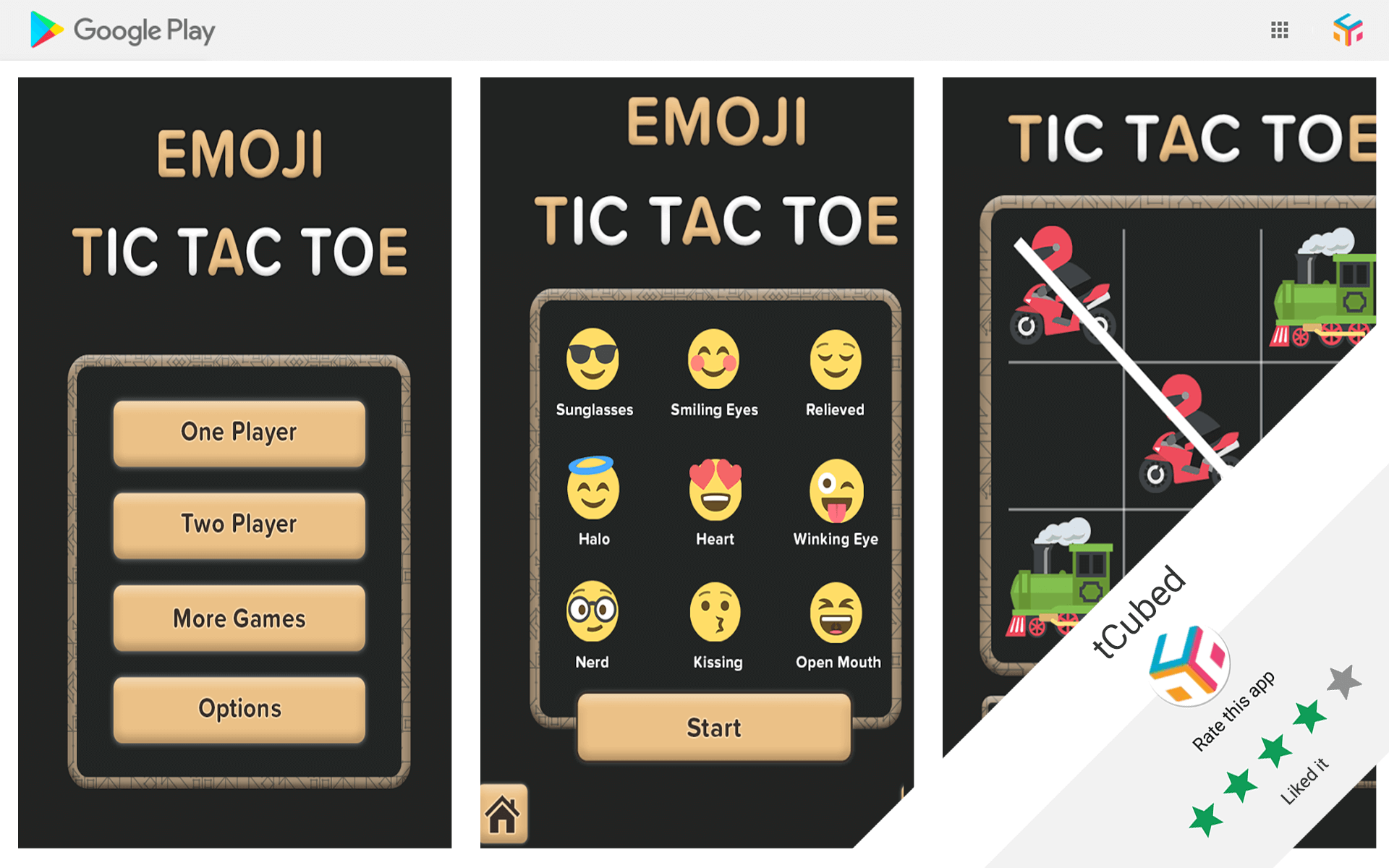 Tic-Tac-Toe for Emoji by Tic Tac Toe Emoji Android Game Review   tCubed